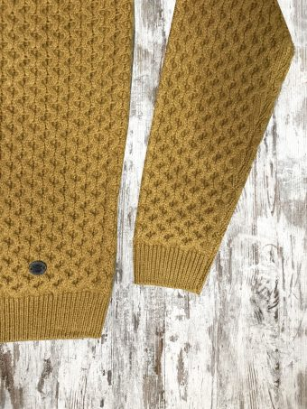 A20M030    0108 SWEATER MARCH - 85%AC 15%WO Mustard Gold