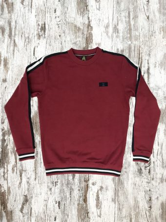 A20F012    0094 FLEECE WIGAN - 80%CO 20%PL Chili Pepper Red