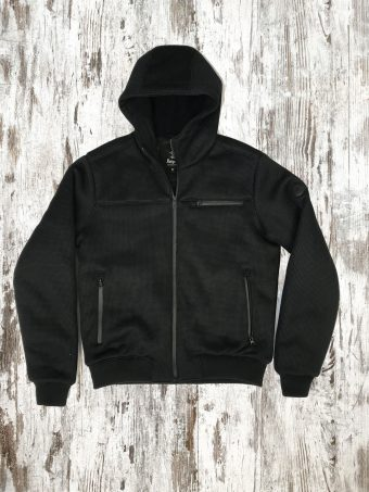 A20J019    0090 SPORT JACKET - 97%PL 3%EA Black
