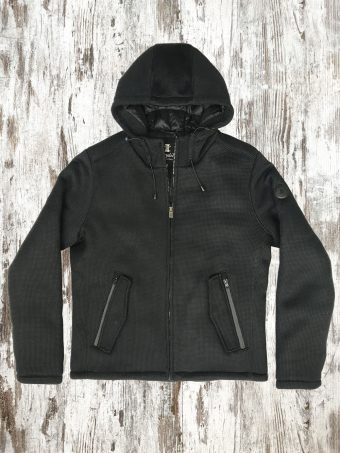A20J020    0090 TRICO JACKET - 100%PL Black