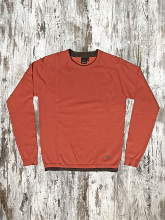 A20M005    0029 SWEATER BANGOR - 80%CO 20%NY Spicy Orange