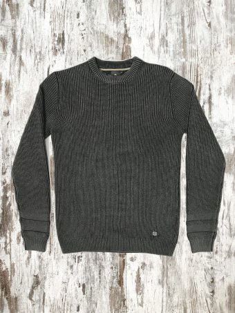A20M008    0137 SWEATER GLASGOW - 100%CO Anthracite Melange