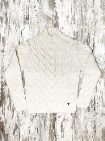 A20M010    0050 SWEATER MARGATE - 85%AC 15%WO Optical White