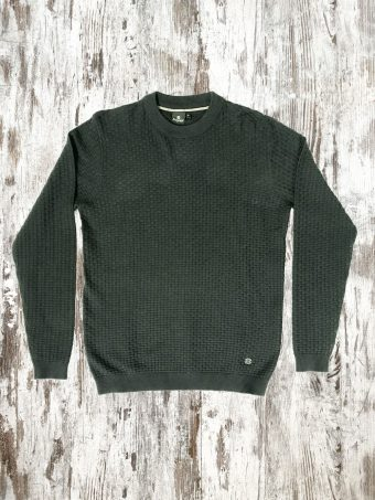 A20M016    0081 SWEATER RIPON - 95%CO 5 %CASHMERE Piombo - Urban Chic