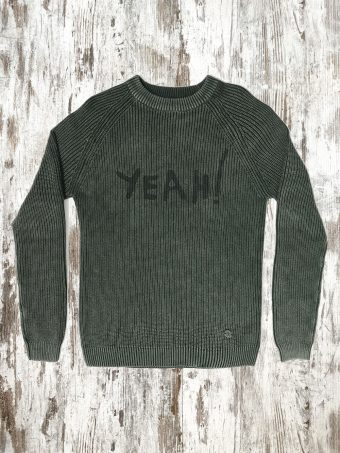 A20M019    0077 SWEATER MARTON - 100%CO Dark Green