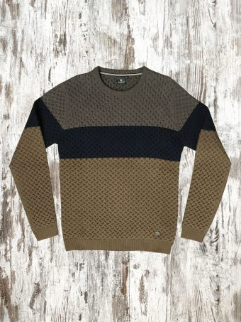 A20M028    0075 SWEATER LINCOLN -  78%CO 14%AC 8%NY Beige Walnut