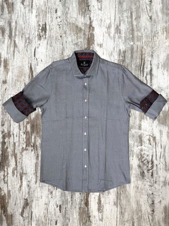 A20S004    0002 SHIRT WATERFORD - 100%CO Dark Blue