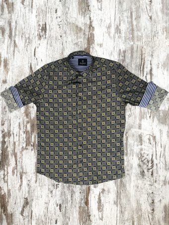 A20S012    0002 SHIRT KILDARE - 97%CO 3%EA Dark Blue
