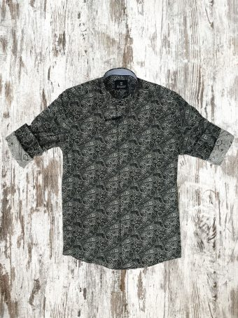 A20S013    0061 SHIRT OFFALY - 97%CO 3%EA Gray
