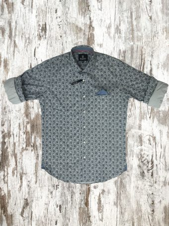 A20S020    0061 SHIRT MAYO - 97%CO 3%EA Gray