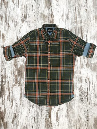 A20S025    0012 SHIRT LETRIM - 97%CO 3%EA Green Mountain
