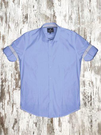 A20S037    0045 SHIRT BASIC - 98%CO 2%EA Light Blue