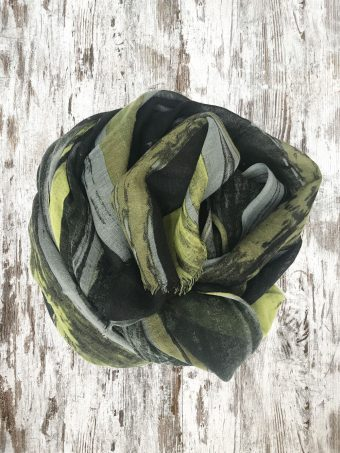 A20SC012   0012 SCARF SCOTT - 100%WO Green Mountain