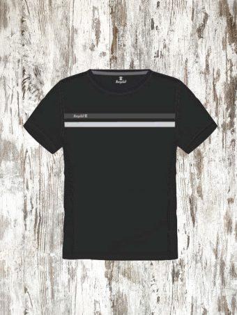 A20T015    0090 T-SHIRT REFLECTING - 100%PL Black
