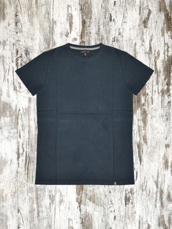 A20T055    0002 T-SHIRT BASIC SHORT SLEEVES - 100% JERSEY CO 30/1 PEACHED OUTSIDE Dark Blue