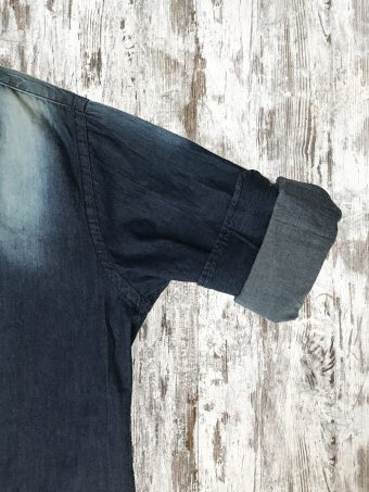 A20S032    0002 SHIRT DENIM - 97%CO 3%EA Dark Blue