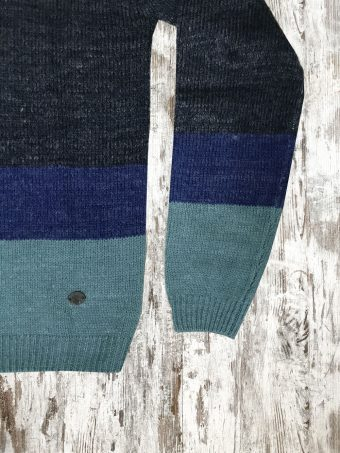 A20M017    0237 SWEATER VALLEY - 85%AC 15%WO Dark Blue Melange