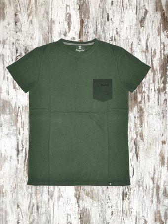 A20T001    0071 T-SHIRT CUT - 95%CO 5%LY Military Green