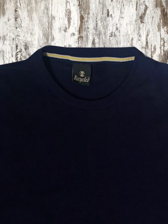 S21M009    0002 T-SHIRT TWING - 100% CO Dark Blue