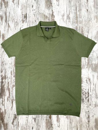 S21MPS003  0071 POLO PINE CONE - 100%CO Military Green