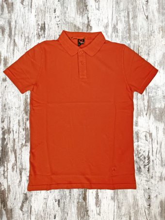S21PS012   0080 POLO BASIC - 95%CO 5%EL PIQUET Orange
