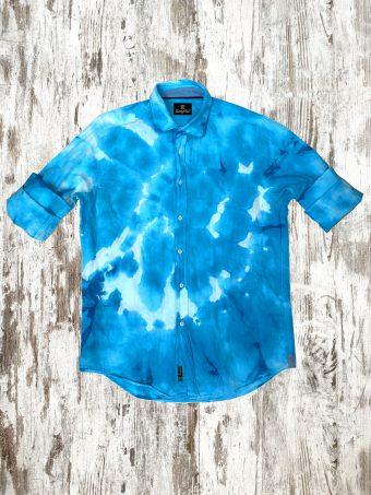 S21S028    0045 SHIRT BATIK - 100%LI Light Blue