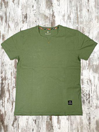 S21T001    0071 T-SHIRT BRACKEN - 100%CO Military Green