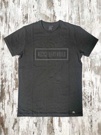 S21T034    0090 T-SHIRT MESH - 95% CO 5% LY Black