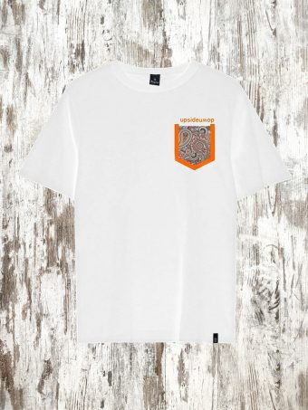S21T038    0050 T-SHIRT UP - 100%CO Optical White