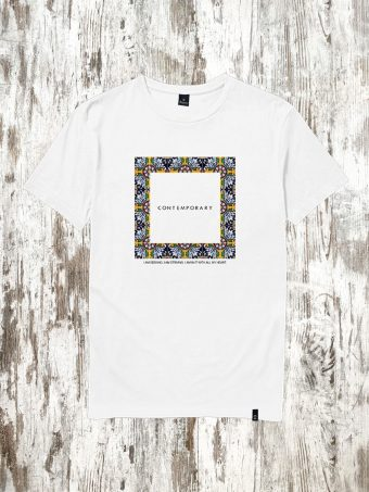 S21T042    0050 T-SHIRT CONTEMPORARY - 100%CO Optical White