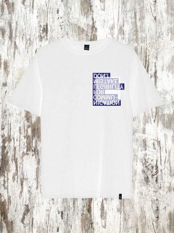 S21T043    0050 T-SHIRT MISTAKE - 100%CO Optical White