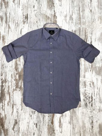 S21S012    0045 SHIRT CHAMBRAY - 100% CO Light Blue