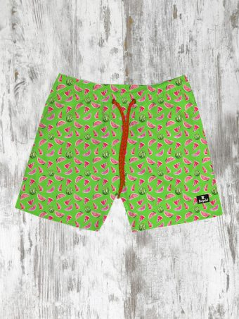 S21SW006   0021 SWIMSUIT WATERMELON - 100%NY Light Green Fresh