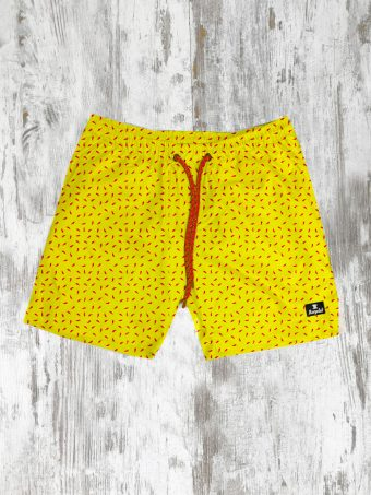 S21SW007   0010 SWIMSUIT CHILI PEPPER - 100%NY Yellow