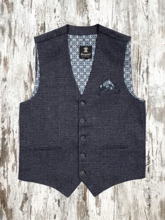 A21G019    0064 GILET PHINEAS - 40%WO - 40%PL - 20%AC Blue Navy