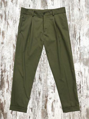 A21P005    0071 CHAPLIN PORTER - 49%VI - 48%PL - 3%EA Military Green