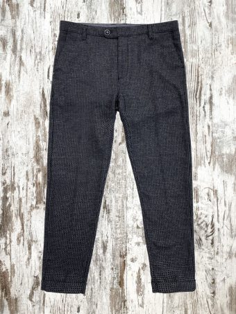 A21P017C   0064 CHINOS PHINEAS - 50%PL - 30%WO - 20%VI Blue Navy