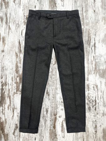 A21P018C   0001 CHINOS POLDIE - 50%PL - 30%WO - 20%VI Anthracite