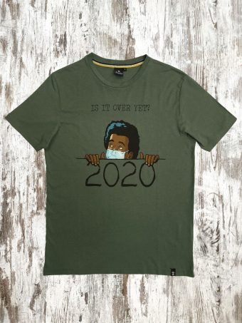 A21T013    0071 T-SHIRT OVER - 100%CO Military Green